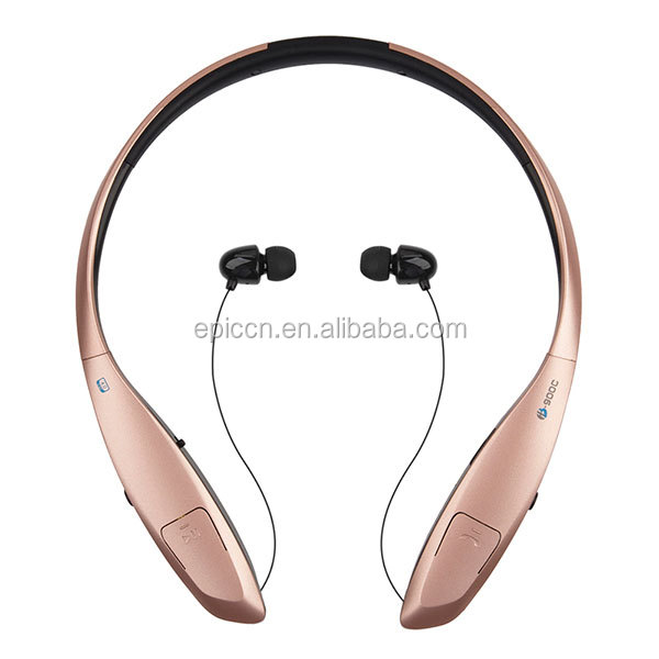 with high quality environment protect material sport wireless bluetooth headset HB-900C