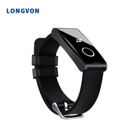 2019 New Arrival Smartwatch IP68 Waterproof Heart Rate Monitor For Android IOS Smart Band Smart Bracelet Factory Price