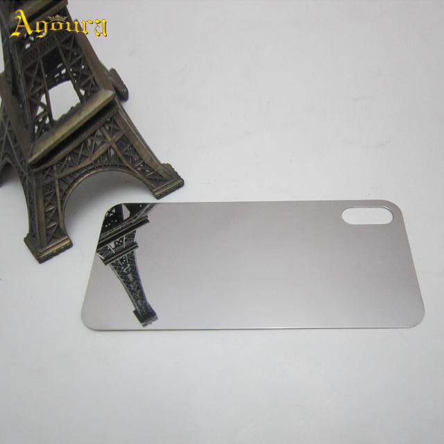 OEM Metal polished back cover gold housing for iPhoneX