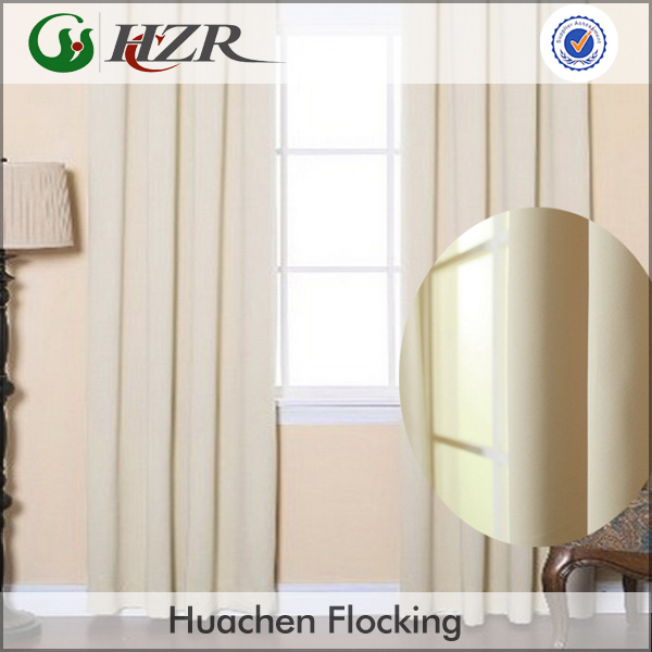 Block Sunlight 3 Pass Black Out Curtain Lining Fabric Ivory/cream ...