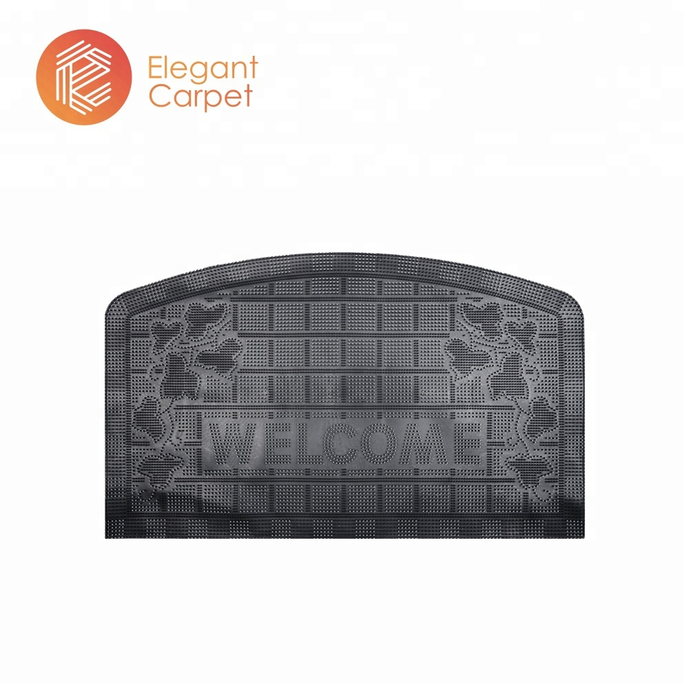 아마존 camping tent anti-slip customized 3d 문 mat