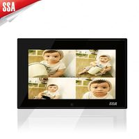 7' digital picture frame support SD card/USB flash drive