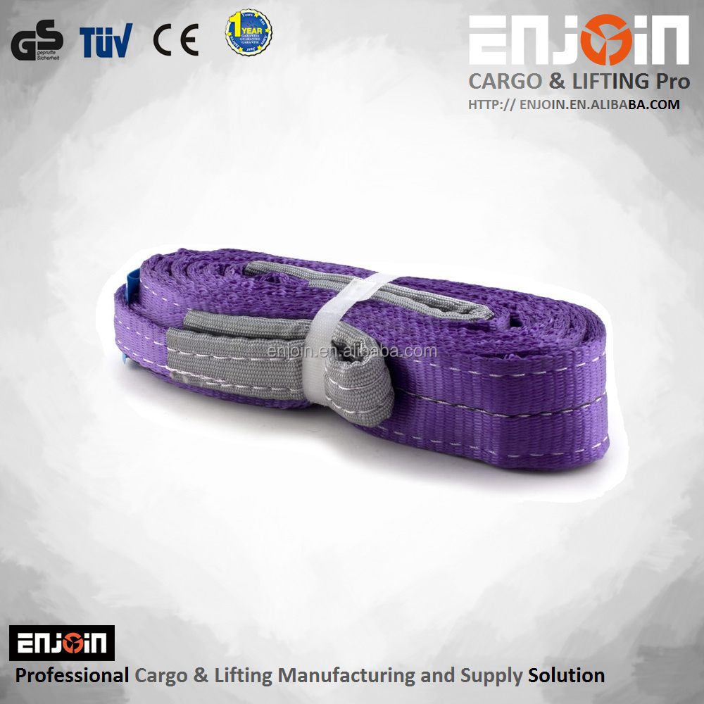 Polyester Webbing Sling Unti Common Acids And Hot Bleaching Agents