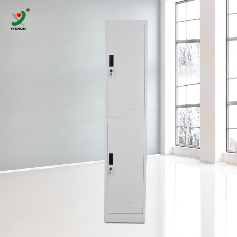Luoyang high quality 2 door steel locker with air hole