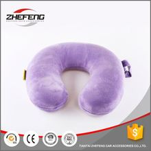 Reliable factory competitive price hundreds design decorative cute u shape head pillow