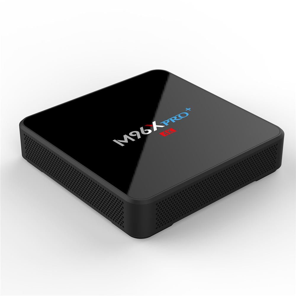 Nuovo Tv Box Amlogic S905w Quad Core M96x Pro Plus. Android Iptv 4 k 2g/16g Dual wifi Android 7.1 Tv Box