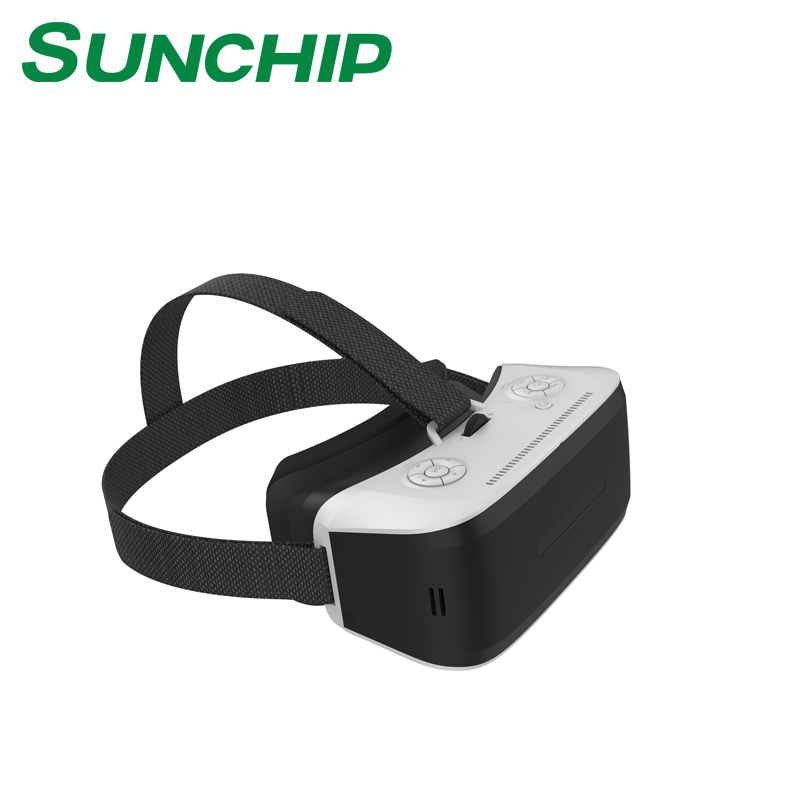 2017 New Products Virtual Reality 3D VR Glasses RK3399 CPU 4K VR BOX Glasses 3840*2160 All in One Headset With HDMI Wifi