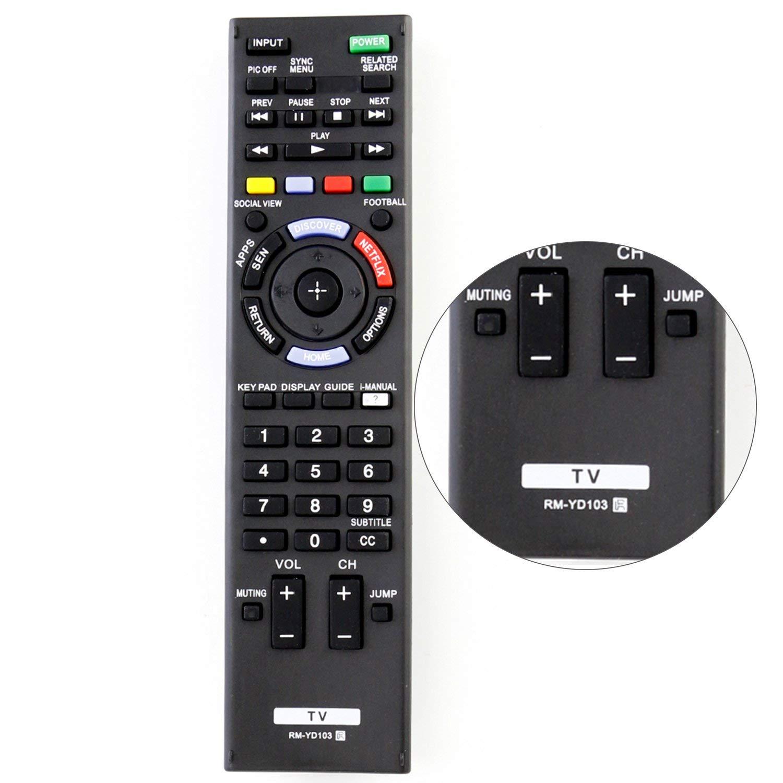 New RM-YD103 RMYD103 Universal Remote Control Fit for Sony TV kdl-48w600b KDL-32W700B KDL-40W580B KDL-55W700B KDL-60W600B XBR-55X800B KDL-60W590B KDL55W700B XBR65X800B XBR-65X800B KDL48W580B KDL60W6