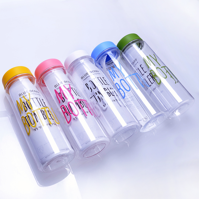 2018 Alibaba best sellers colorful custom logo wholesale cheap 500ml advertisement water bottle