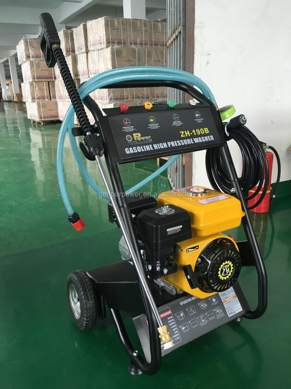 portable high pressure washer with CE and ISO9000