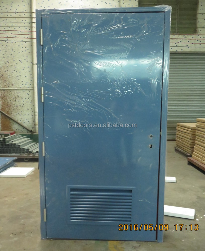 Hollow Metal Louver Door For Fire Rated Buy Exterior