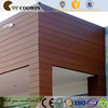 External high quality wpc composite facade wall panel