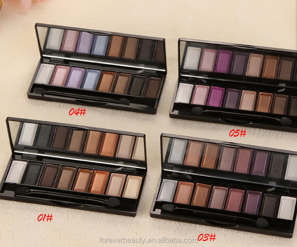 Best Eyeshadow Palette 2015 Nude Smoky 8 Colors Eyeshadow Palette ...