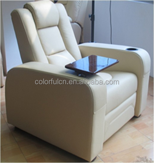 Cream leather lazy boy recliner chair /decoro leather sofa recliner With Writing Pad Function LS811B & Cream Leather Lazy Boy Recliner Chair /decoro Leather Sofa ... islam-shia.org