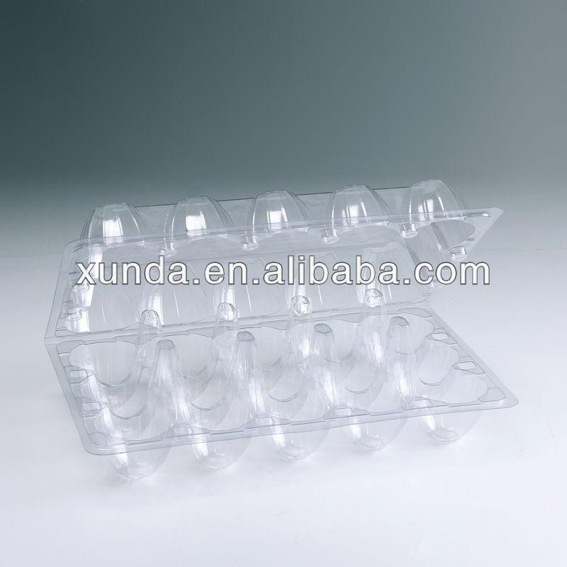 plastique transparent bo te oeufs pour 10 pi ces. Black Bedroom Furniture Sets. Home Design Ideas