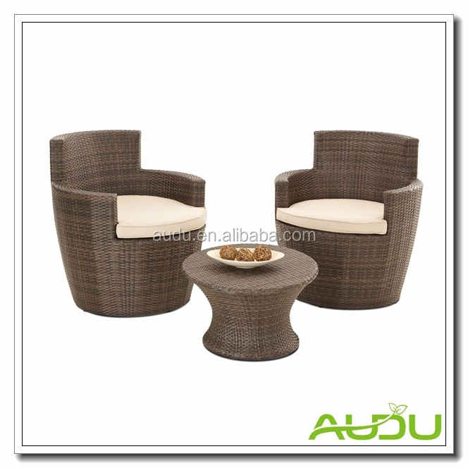 home Balcony Leisure Rattan Bedroom Furniture