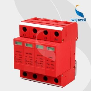 CE RoHS approved Saip/Saipwell 240v power surge protector