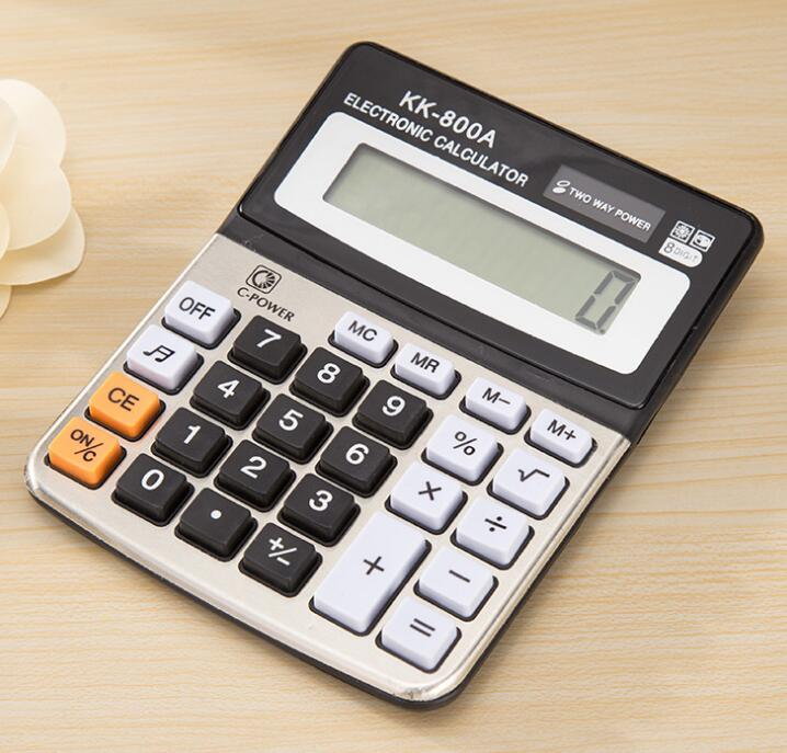 High Quality Promotional Gifts Plastic Electronic Calculadora Cheap 8 Digit Calculator With Simple Design