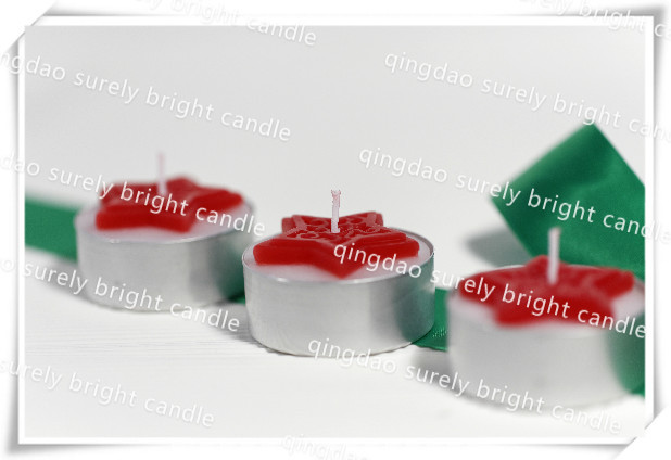 christmas series gift scented tea light candle