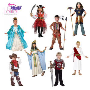 New design customized medieval costume, medieval child costume dress