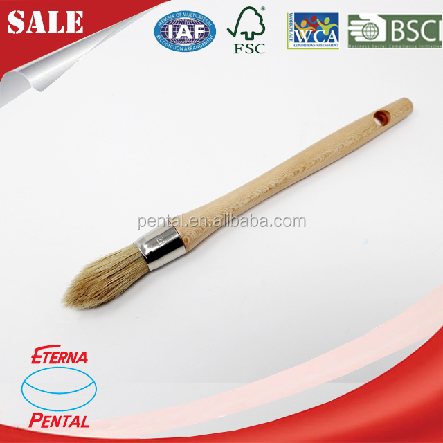 Manfacture Wood Handle Chalk Paint Wax Brush