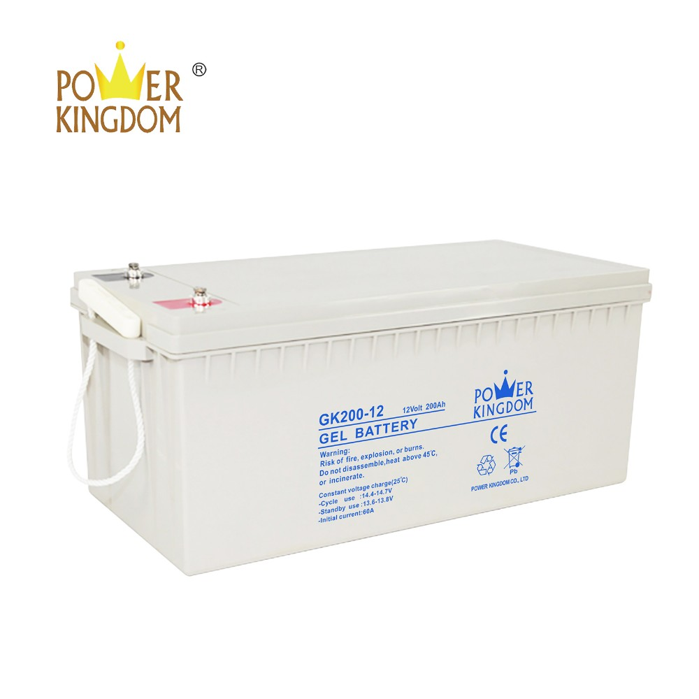 Power Kingdom Best deep cycle battery technology factory price