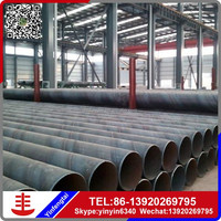 With spiral/LSAW welded steel pipe conveying fluid gas