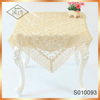 2017 Hot-selling Wholesale French lace embroidered table cloth
