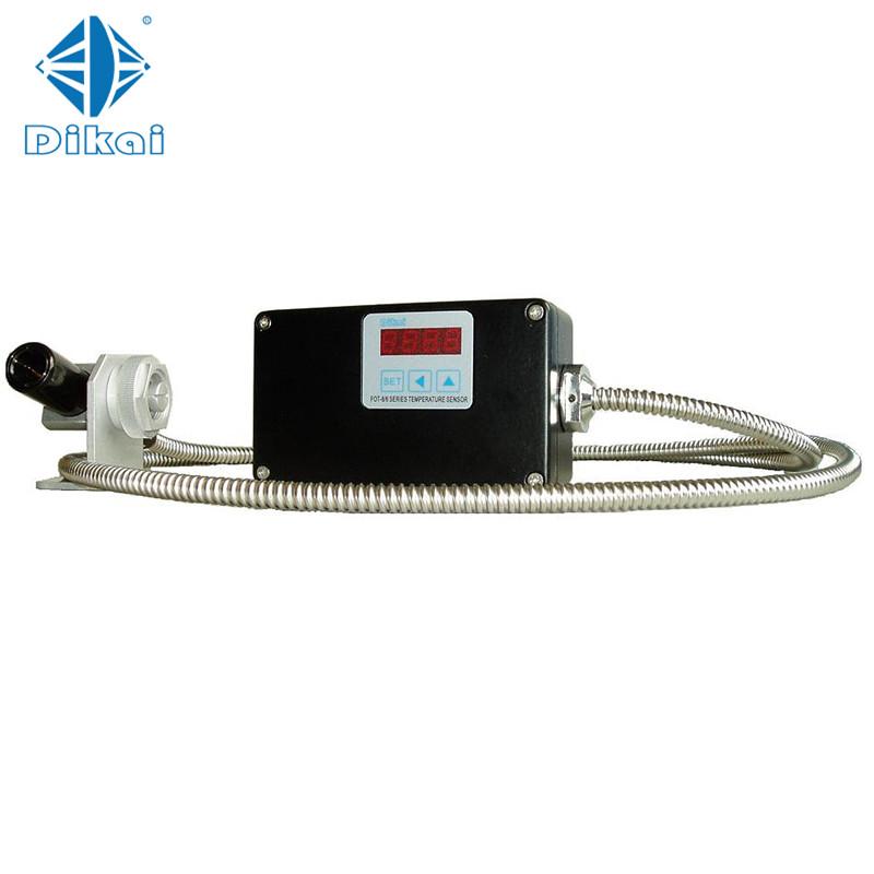 High Performance optical fiber infrared thermometer digital IR temperature sensor - KingCare   KingCare.net