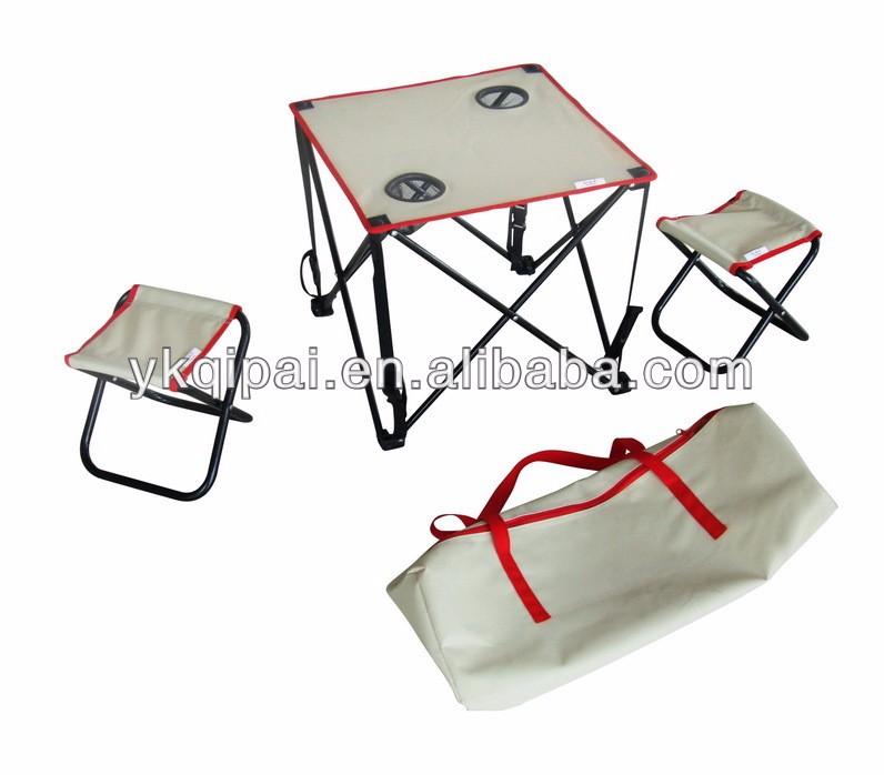 Tavoli E Sedie Da Campeggio Pieghevoli.Portatile Pieghevole Tavolo E Sedia Pieghevole Sedia Da Campeggio