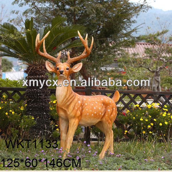 Garden Figurine Life Size Animal Deer Statue   Buy Garden Figurine,Life  Size Animal Statue,Garden Deer Statue Product On Alibaba.com