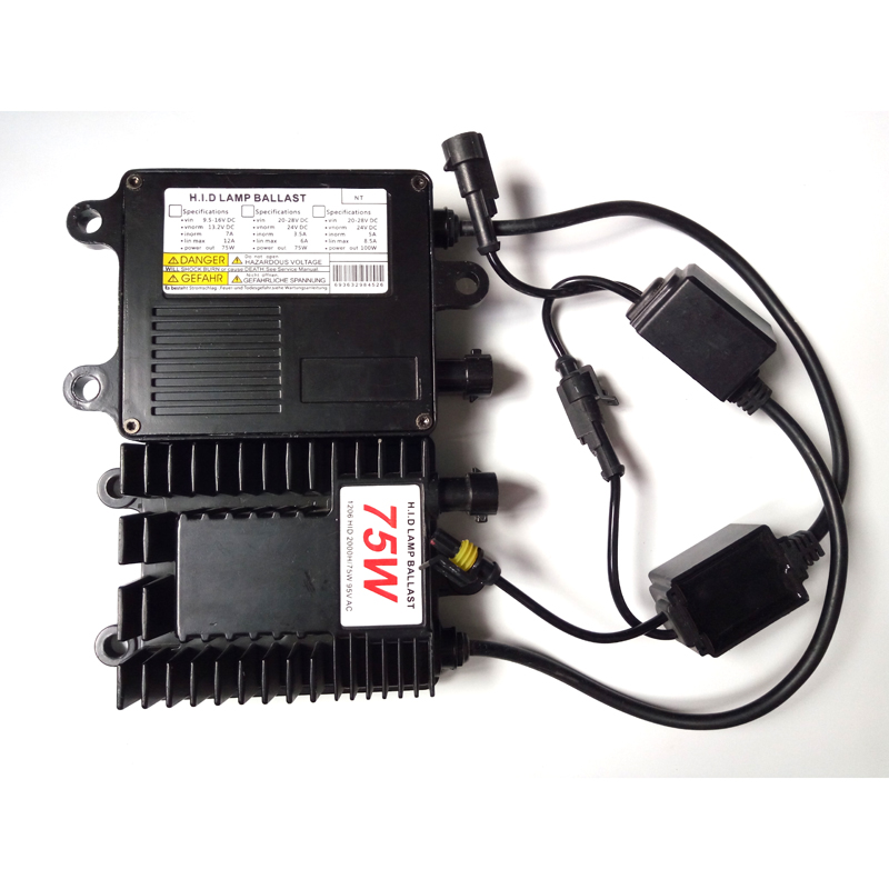 Wholesale High Quality 75W <strong>AC</strong> HID Ballast HID Xenon Kit for All Cars h1 h3 h7 h11