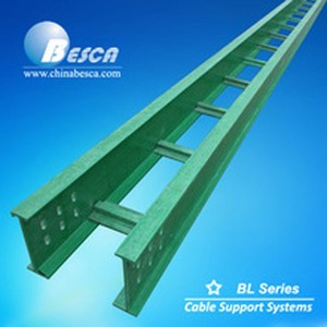 BL5/6 Besca Manufacture FRP/GRP Ladder Tray Cable Ladder Pieces Supplier