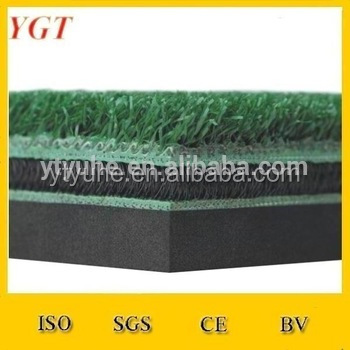 3D model golf practise mat/Nylon turf hitting /practice,chipping and diving golf mats