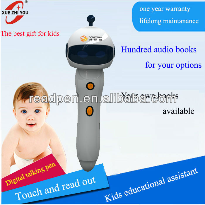 Interesting Reading pen and book for kids English Intelligent Learning Machine <strong>Toys</strong>