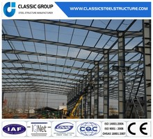 Galvanized Prefabricated Metal Steel Frame Construction Buildings Materials