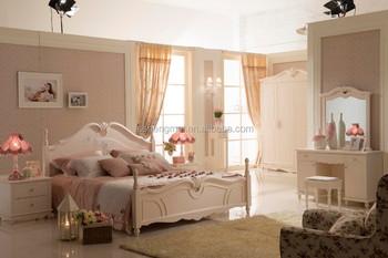 White Color Antique Royal Furniture Bedroom Set - Buy White Color ...