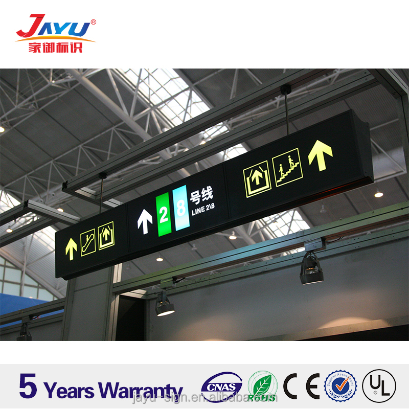 Way Finding Sign / Display board / Exit / Edge lit / Directional / safety / hanging / reflective / florescent / LED / Signage