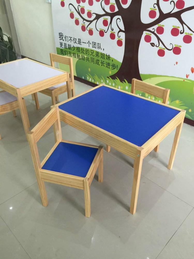 Niños mesa de estudio y silla kd mobiliario escolar/aula mesa de ...