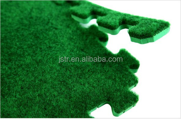 aritificial grass pile eva foam floor mats outdoor