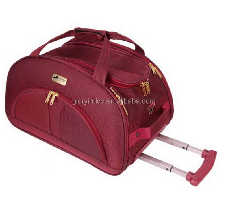 promotional products ideas airline trolley bag lady carry on duffel rolling bag foldable trolley bags travel luggage