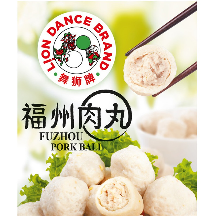 Wholesale Singapore Food Lion Dance Fuzhou Fish Ball