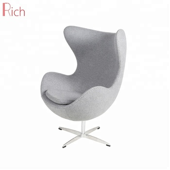 Foshan Furniture Industrial Modern Home Office Aluminum Base Arm Chair Fabric Cover Cheap Ball Egg Pod  sc 1 st  Alibaba & Foshan Furniture Industrial Modern Home Office Aluminum Base Arm ...