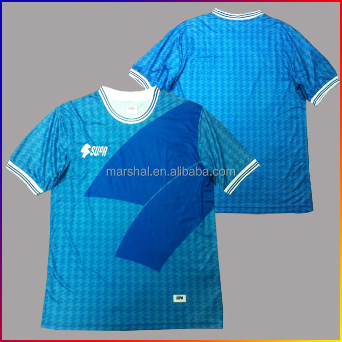 New Customize Sublimation Printing Shirts Custom Soccer