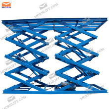 Big hydraulic scissor lift table/Double scissor lift table