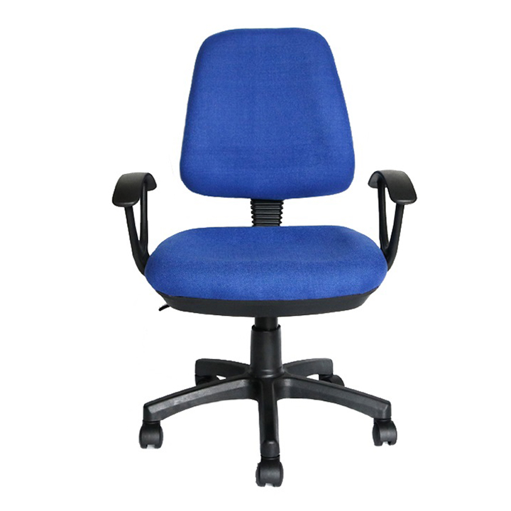 New design bule fabric staff office chair China with good office chair price