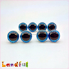 12mm Blue Soft Toys Craft Animal Eyes Handicraft Plastic Stuffed Toy Eyes