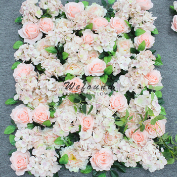 L0160309 Wedding Artificial Flower Wall Backdrop For Wall Decoration ...