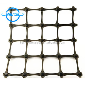 Biaxial PP geogrid China price for reinforcement the fatigue cracks of asphalt layer