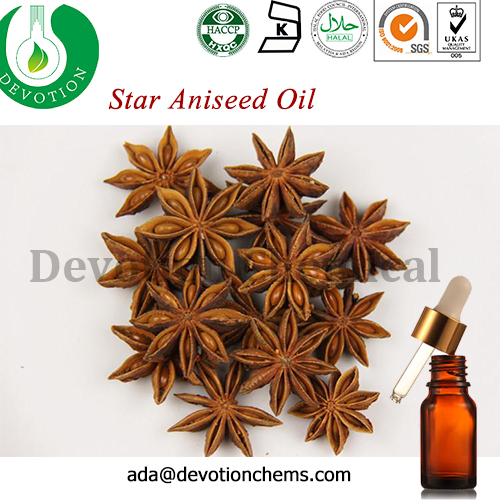 Plant Extract Therapeutic Grade Anise Seed Pure Essential Oils
